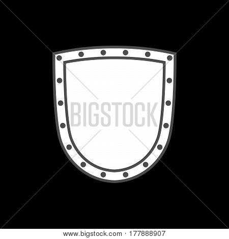 Shield Icon Shape Emblem