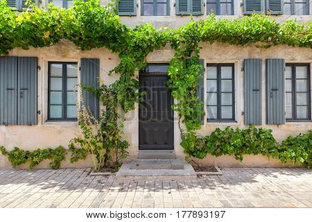 Traditional house on the Island of Re,France