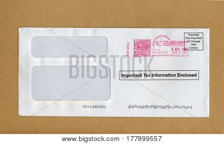 Mail Letter Envelope
