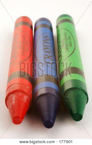 Three Crayons