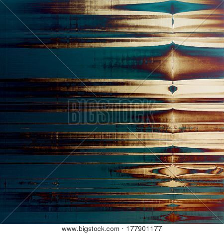 Grunge background or vintage texture in traditional retro style. With different color patterns: yellow (beige); brown; blue; purple (violet); cyan