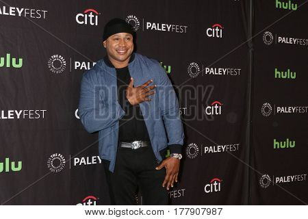 LOS ANGELES - MAR 21:  LL Cool J at the 34th Annual PaleyFest Los Angeles -