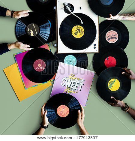 Vinyl Disc Audio Record Classic