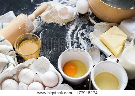 Preparation Baking Kitchen Grocery Top Ingredient