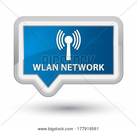 Wlan Network Prime Blue Banner Button