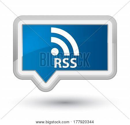 Rss Prime Blue Banner Button