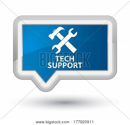 Tech Support (tools Icon) Prime Blue Banner Button