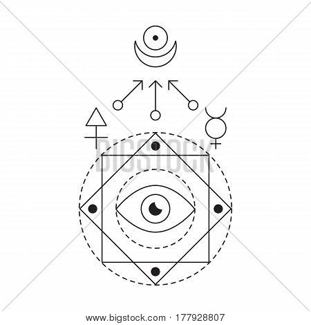Symbol Alchemy Sacred Vector Photo Free Trial Bigstock
