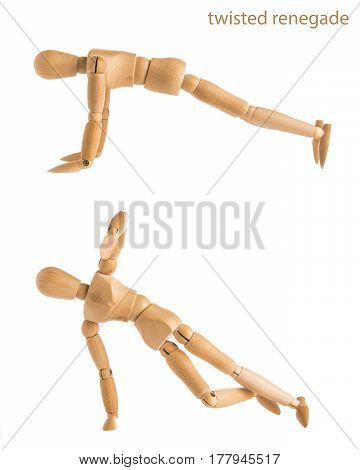 Twisted Renegade Pose