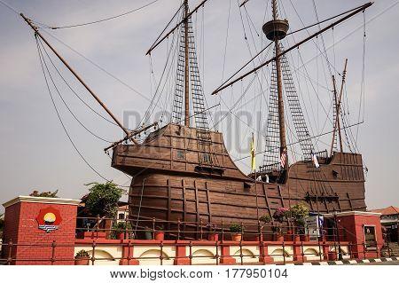 Samudera Maritime Museum In Malacca