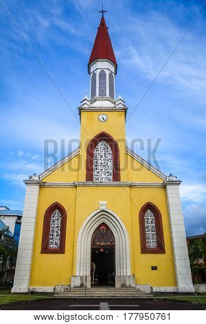 Papeete City Cathedral, Tahiti Island
