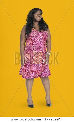 African Descent Woman Smiling