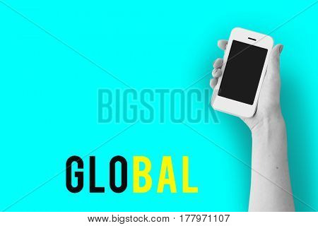 Internet Network Technology Social Platform Digital Word