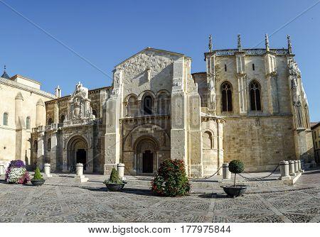 Collegiate Church of San Isidoro Leon Spain