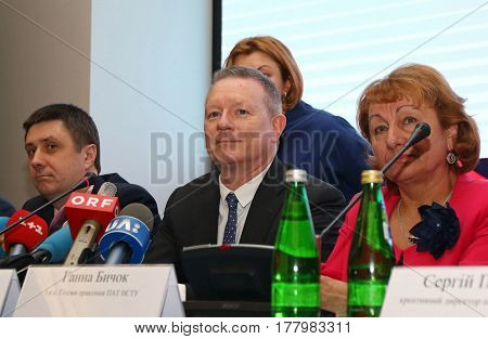 2017 Eurovision Song Contest Press Briefing In Kyiv