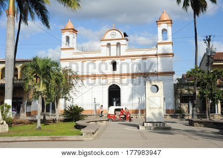 The Colonial Church Of Copan Ruinas