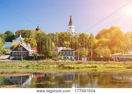 Alexandrovskaya Sloboda in Alexandrov Russia. It served as the capital of Russia for three months in the mid-16th century under Tsar Ivan the Terrible until he agreed to return his court and the relics of Moscow which he had taken with him.