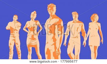 Digital Marketing and Automated Platform Management as Concept 3D Illustration Render