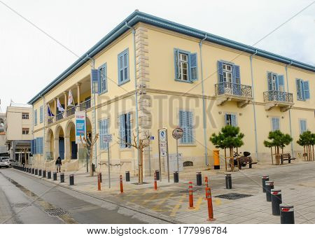 University building in the old town of Limassol, an Ex Government building.