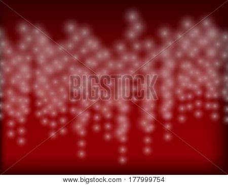Abstract Sparkling Holiday Background bokeh effect. Vector Illustration.