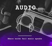 Music Melody Rhythm Sound Song Audio Listening poster