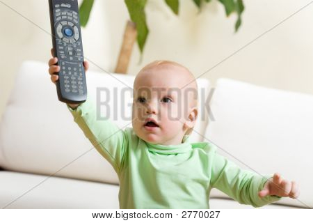 Father Switch On A Tv, Please!