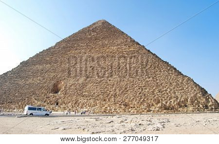 The Great Cheops Pyramid In Cairo, Egypt