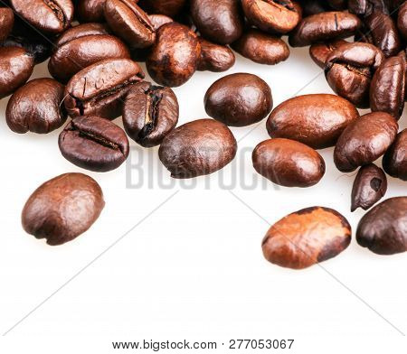 Roasted Coffee Beans Color Images Stock Photos