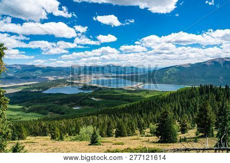 Perfect Summer Time Landscape Of The Rocky Mountains Right In The Middle Of The Heart Of The Rockies