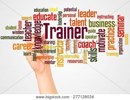 Trainer Word Cloud Image & Photo (Free Trial) | Bigstock