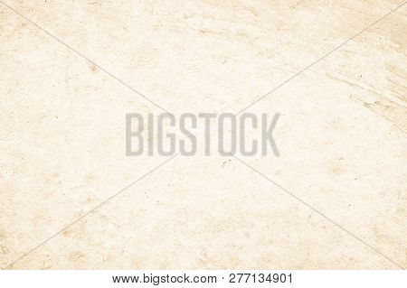 Art Concrete Or Stone Texture For Background In Black, Brown And Cream Colors. Cement And Sand Wall