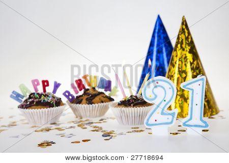 Cupcake birthday surpris
