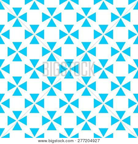Tile Pastel Blue And White Vector Pattern