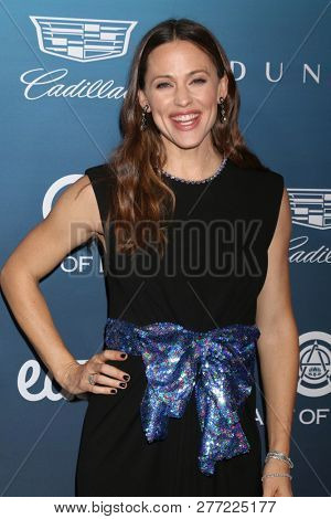 LOS ANGELES - JAN 5:  Jennifer Garner at the Art of Elysium 12th Annual HEAVEN Celebration at a Private Location on January 5, 2019 in Los Angeles, CA