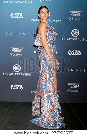 LOS ANGELES - JAN 5:  Georgia Fowler at the Art of Elysium 12th Annual HEAVEN Celebration at a Private Location on January 5, 2019 in Los Angeles, CA