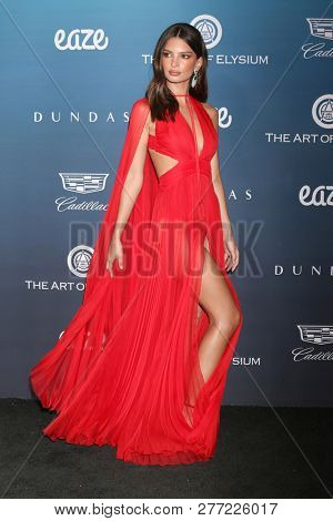 LOS ANGELES - JAN 5:  Emily Ratajkowski at the Art of Elysium 12th Annual HEAVEN Celebration at a Private Location on January 5, 2019 in Los Angeles, CA