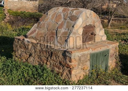 An Historic Outside Oven At Matjiesfontein Near Nieuwoudtville In The Northern Cape Province