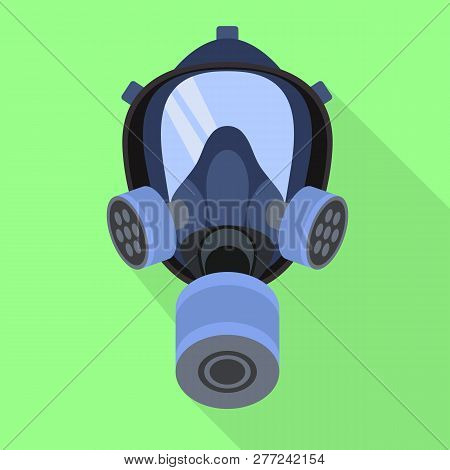 Gas mask for web