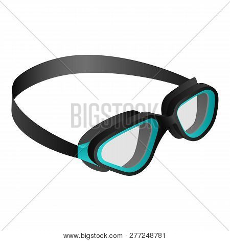 c97eed8e6969 Swim Goggle Icon. Isometric Of Swim Goggle Vector Icon For Web Design  Isolated On White