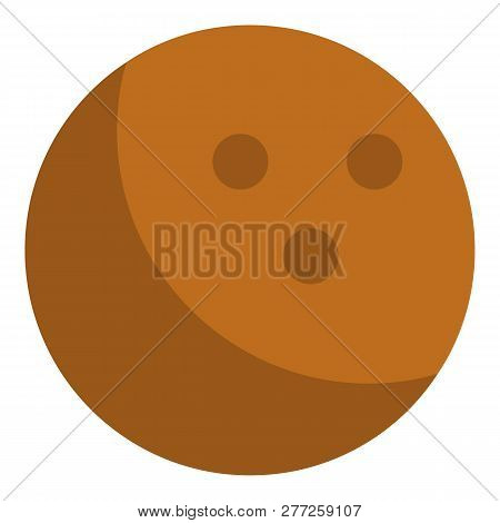 Cocos Nut Icon. Isometric Of Cocos Nut Vector Icon For Web Design Isolated On White Background