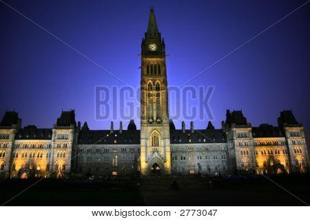 Здания парламента Канады.