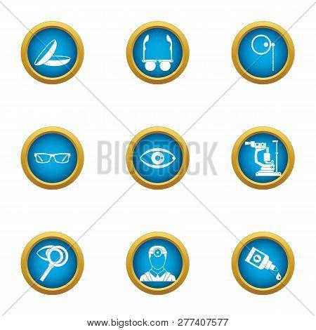 Scientific Environmentalist Icons Set. Flat Set Of 9 Scientific Environmentalist Icons For Web Isola
