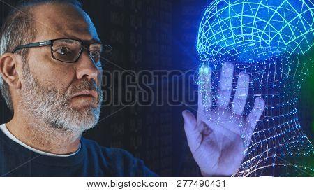 Artificial Intelligence Deep Learning Brain Simulation