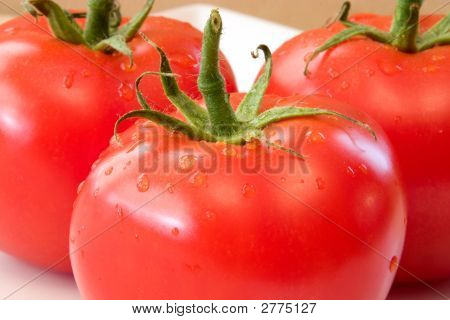 Delicious Tomatoes.