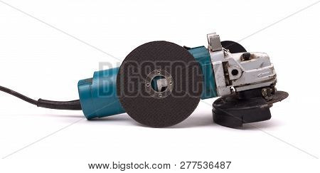 Angle Grinder Isolated