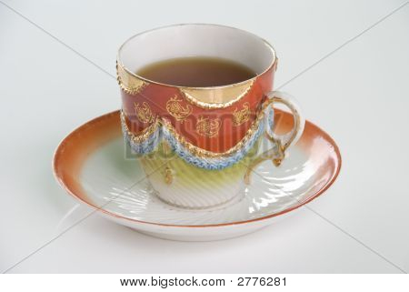 Highly Decorative Tea Cup