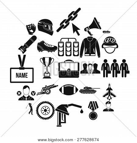Conquest Icons Set. Simple Set Of 25 Conquest Vector Icons For Web Isolated On White Background