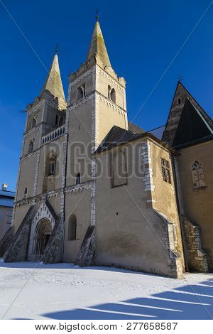 Ancient Spisska Kapitula And Saint  Martin Cathedral ( Spis Chapter House , Known As The Slovak Vati