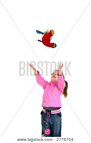 Child Throws Up Toy