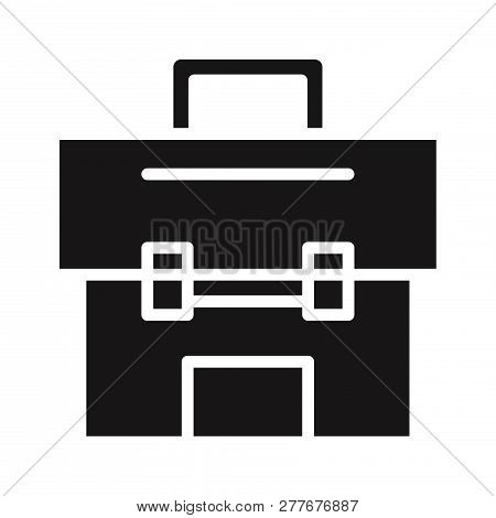 Tool Box Icon Isolated On White Background. Tool Box Icon In Trendy Design Style. Tool Box Vector Ic